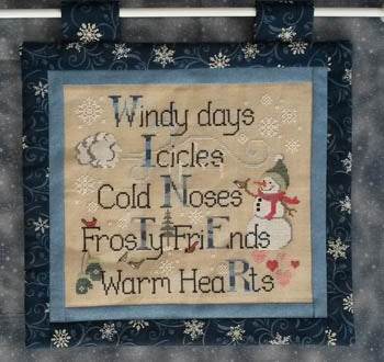 Waxing Moon Designs, Winter Things, Needles and Things