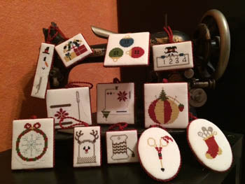 AuryTM Designs, Stitcher's Ornaments, Needles and Things