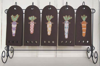 Samsarah Design Studio, Ten X The Fun-Easter Bunny's Carrot Farm, Needles and Things