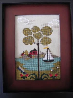 By The Bay Needleart, Nantucket Village #4, Needles and Things