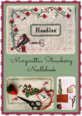 Lindsay Lane Designs, Margarette's Strawberry Needlebook, Needles and Things