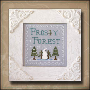 Country Cottage Needleworks, Frosty Forest 9-Frosty Forest, Needles and Things
