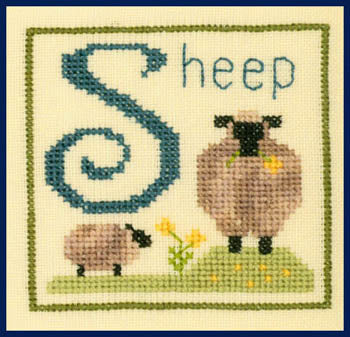 Elizabeth's Designs, S Is For Sheep, Needles and Things