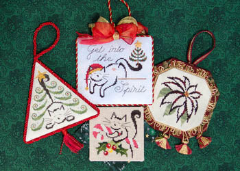 Brittercup Designs, Christmas Ornaments II, Needles and Things