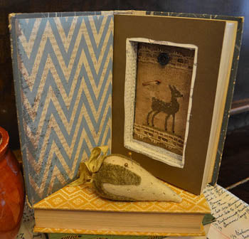 Raise The Roof Designs, Thrift Shop Thrills-Hollow Books, Needles and Things
