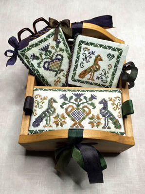 Milady's Needle, Thistle Patch Sewing Box, Needles and Things