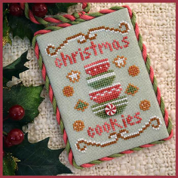 Country Cottage Needleworks, Classic Collection 4-ChristmasCookies, Needles and Things