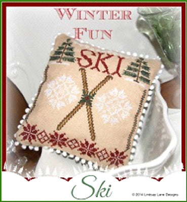 Lindsay Lane Designs, Winter Fun-Ski, Needles and Things