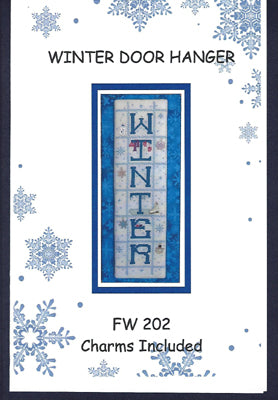 Faithwurks, Winter Doorhanger (w/chms), Needles and Things