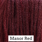 Classic Colorworks, Manor Red, Needles and Things