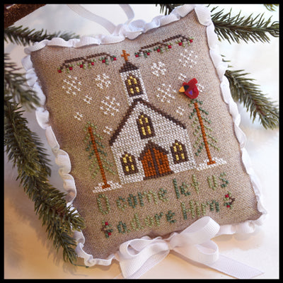 Country Cottage Needleworks, Classic Collection 6-Let Us Adore Him, Needles and Things