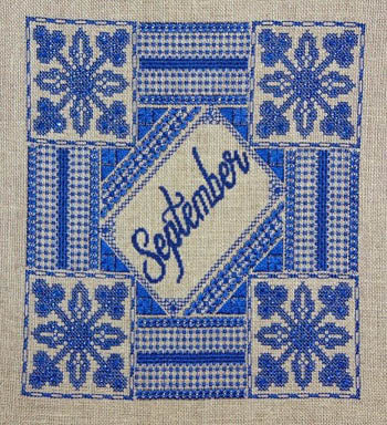 Northern Expressions Needlework, September Sapphire, Needles and Things