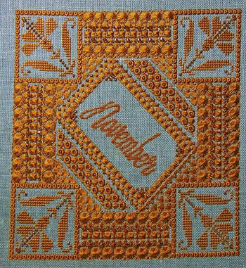 Northern Expressions Needlework, November Topaz, Needles and Things