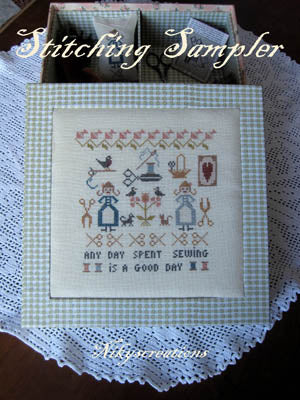 Nikyscreations, Stitching Sampler, Needles and Things