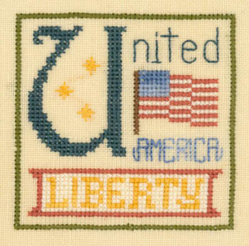Elizabeth's Designs, U Is For United, Needles and Things