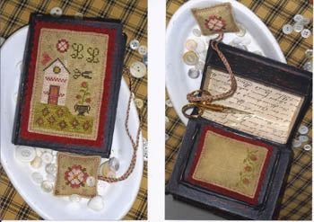 Chessie & Me, Tudor Rose Stitch Book, Needles and Things