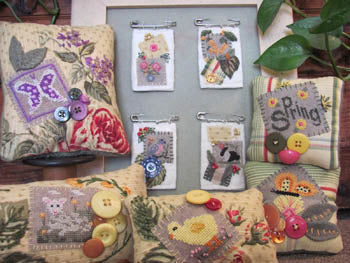 By The Bay Needleart, Stitch An Inch-Spring Orni's, Needles and Things