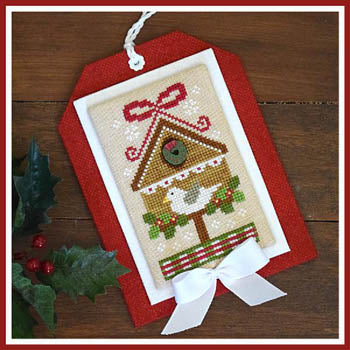 Country Cottage Needleworks, Classic Collection 9-ChristmasBirdhouse, Needles and Things