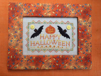 Annalee Waite Designs, Batty Halloween, Needles and Things