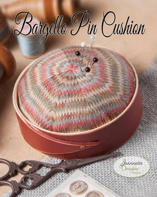 Jeannette Douglas Designs, Bargello Pincushion, Needles and Things