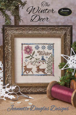 Jeannette Douglas Designs, Winter Deer, The, Needles and Things