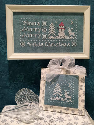 ScissorTail Designs, White Christmas, Needles and Things
