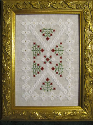Terri Bay Needlework Designs, Christmas Garden, Needles and Things