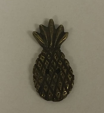 Homespun Elegance Ltd, Olde Brass Button- Pineapple, Needles and Things