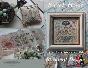 Blackbird Designs, Sweet Home - Garden Club 4, Needles and Things