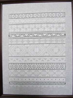 Terri Bay Needlework Designs, Rhapsody In White, Needles and Things