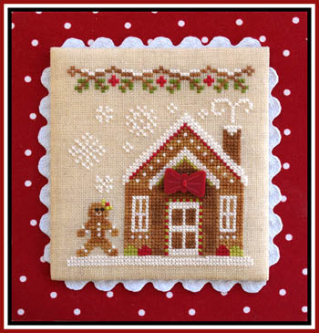 Country Cottage Needleworks, Gingerbread Village 5-Gingerbread House 3, Needles and Things