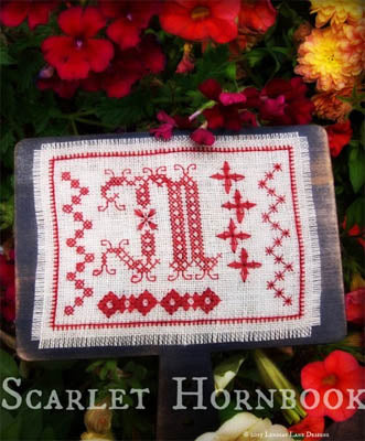 Lindsay Lane Designs, Scarlet Hornbook, Needles and Things