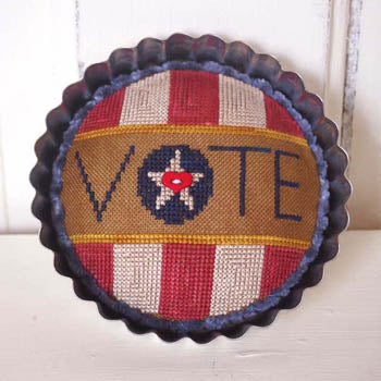 Samsarah Design Studio, Vote! (Includes Button), Needles and Things