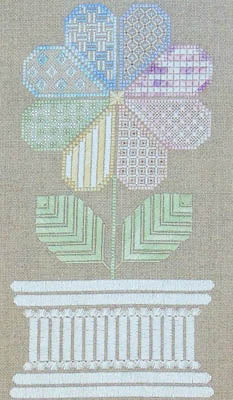 Northern Expressions Needlework, Patchwork Flower, Needles and Things