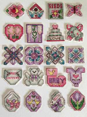 Frony Ritter Designs, Twenty Minis, Needles and Things