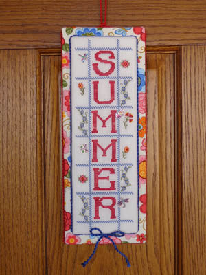 Faithwurks, Summer Door Hanger (w/charms), Needles and Things