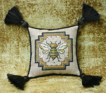 Bee Cottage, Bee Pincushion - Teenie Tweenie (includes charms), Needles and Things