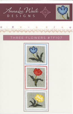 Annalee Waite Designs, Three Flowers, Needles and Things