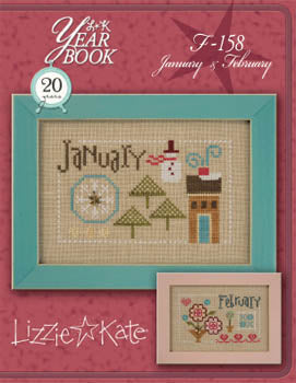 Lizzie Kate, Yearbook Double Flip - January/February, Needles and Things