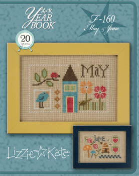 Lizzie Kate, Yearbook Double Flip - May/June, Needles and Things