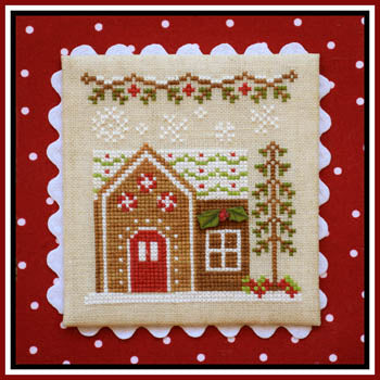 Country Cottage Needleworks, Gingerbread Village 9-Gingerbread House 6, Needles and Things