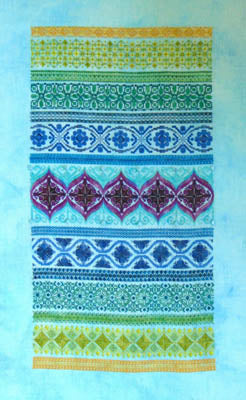 Northern Expressions Needlework, Peacock Band Sampler, Needles and Things