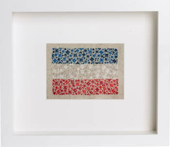 Cherry Lane Designs, Starburst Flag Of France, Needles and Things