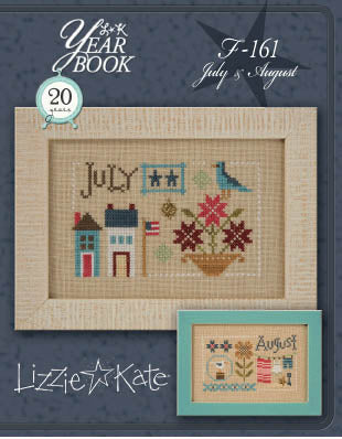 Lizzie Kate, Yearbook Double Flip - July/August, Needles and Things