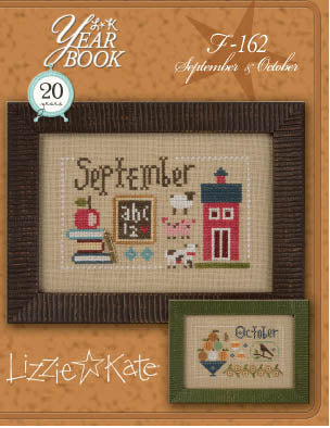 Lizzie Kate, Yearbook Double Flip - September/October, Needles and Things