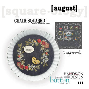 Square-ology, August, Needles and Things