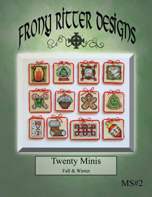 Frony Ritter Designs, Twenty Minis - Fall & Winter, Needles and Things