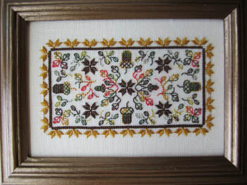 Terri Bay Needlework Designs, Autumn Garden, Needles and Things