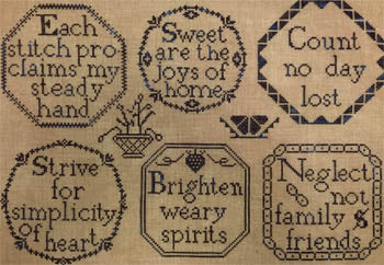 Needle WorkPress, Quaker-Inspired Medallions, Needles and Things