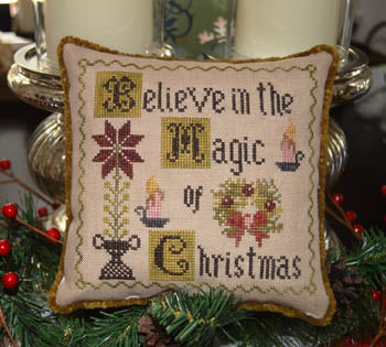 Abby Rose Designs, Believe In The Magic Of Christmas, Needles and Things